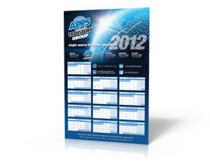 APPS Transport Promotional Calendars