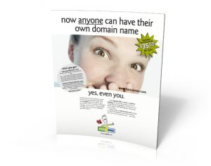 """B2C online service advertising: """"Anyone can"""" campaign for easyDNS.com"""