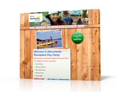 Canadian Children's charity wordpress websites