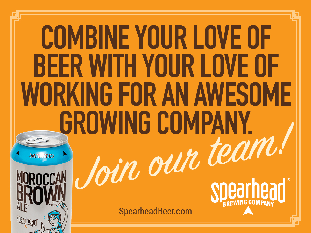 Spearhead Brewery Recruitment Campaign