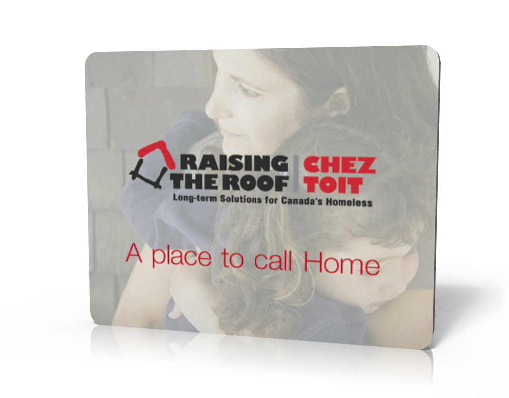 Non-profit Backgrounder Videos: Raising The Roof – A Place to Call Home