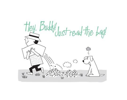 """Hey, Buddy!"" Fertilizer use public information campaign"
