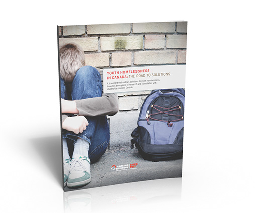 """non-profit report layout & design: """"The Road to Solutions"""" by Raising the Roof"""