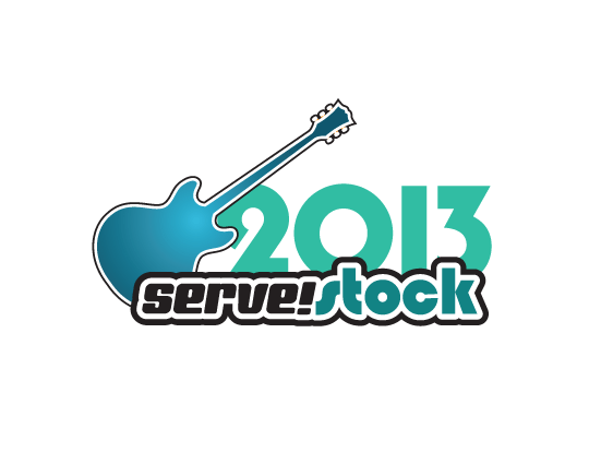 Memorable, flexible and long-lasting non-profit event branding: Serve!Stock