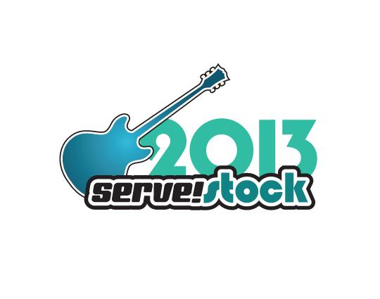 Memorable, flexible and long-lasting non-profit event branding: Serve!Stock