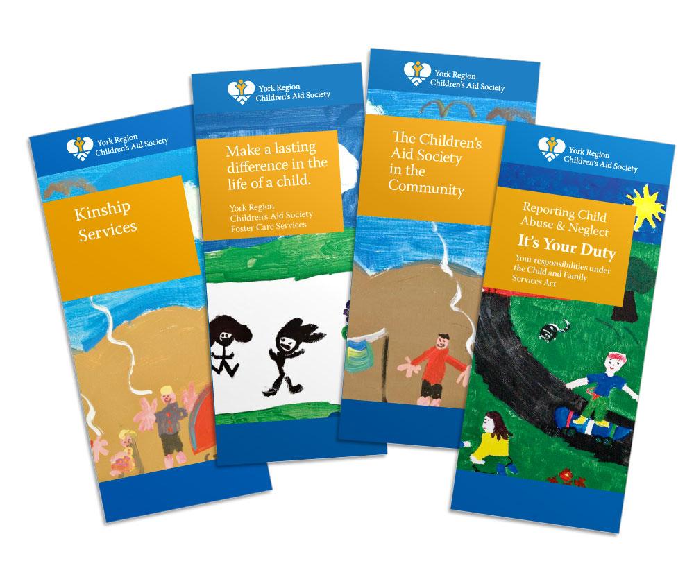 15 Languages – 1 layout: York Region Children's Aid Society Multilingual Design System